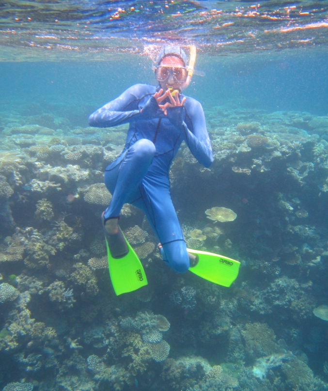 Great Barrier Reef (throw what you know, ZTA!)