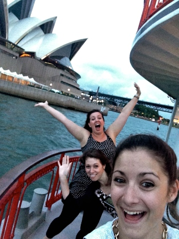 Show boat excursion with colleagues