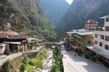 Aguas Calientes City